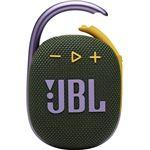 Altavoz Bluetooth JBL Clip 4 Verde