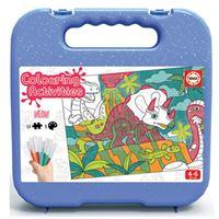 Puzzle coloreable Educa Dinosaurios