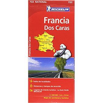 Mapas National Michelin: Francia 2017. Doble cara