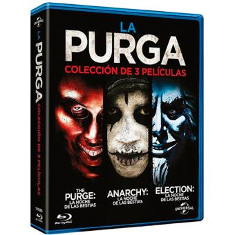Pack La purga: 1-3 - Blu-Ray