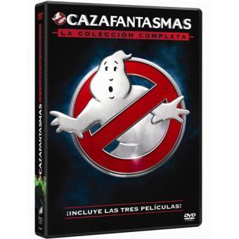 Pack Trilogía Cazafantasmas - DVD
