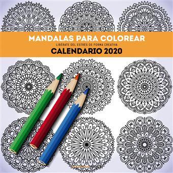 Calendario 2020 Mandalas para colorear