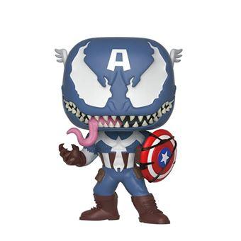 Figura Funko Marvel - Capitán América venomizado