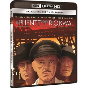 El puente sobre el río Kwai - UHD + Blu-Ray