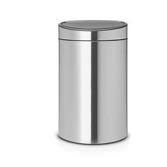 Cubo de basura Brabantia Touch Bin 23+10 L Acero inoxidable