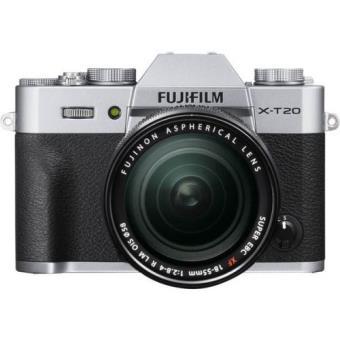 Cámara EVIL Fujifilm X-T20 + 18-55 mm F2.8-4  Plata