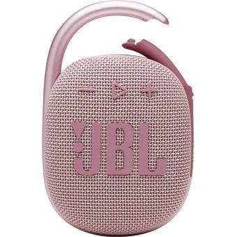 Altavoz Bluetooth JBL Clip 4 Rosa