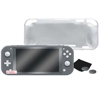 Kit Gaming Blackfire Protection TPU Transparente para Nintendo Switch Lite