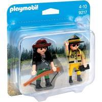 Playmobil Duo Pack - Ranger y Cazador Furtivo