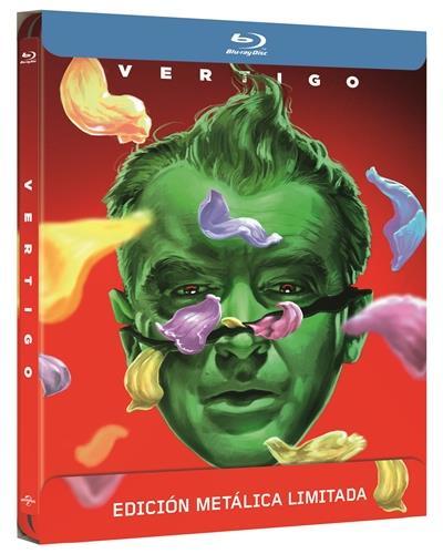 Vértigo - Steelbook Blu-Ray - Alfred Hitchcock - James Stewart - Kim ...