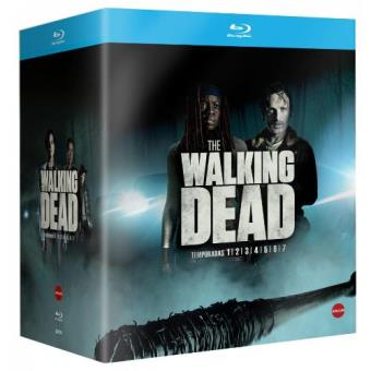 The Walking Dead  Temporadas 1-7 - Blu-Ray