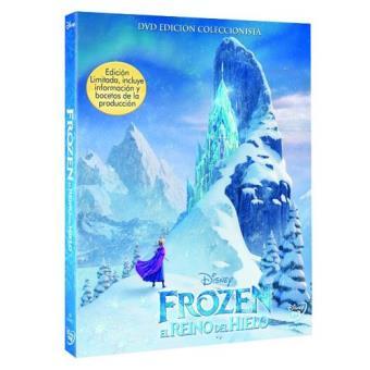 Frozen: El reino del hielo Ed Coleccionista - DVD