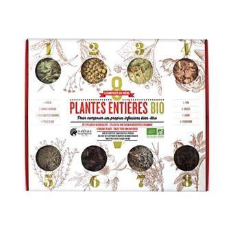 Caja de 8 plantas para preparación de té