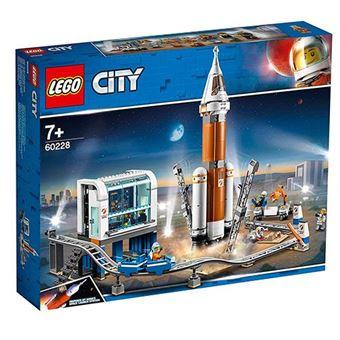 LEGO City Space Port 60228 Cohete Espacial de Larga Distancia y Centro de Control