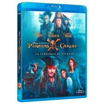 Piratas del Caribe 5. La venganza de Salazar - Blu-Ray