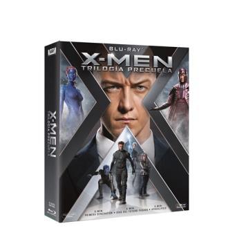 Pack Trilogía X-Men Precuela - Blu-Ray