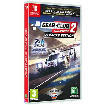 Gear.Club Unlimited 2 Tracks Edition Nintendo Switch