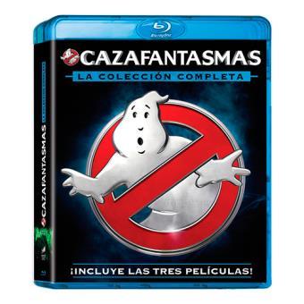 Pack Trilogía Cazafantasmas - Blu-Ray