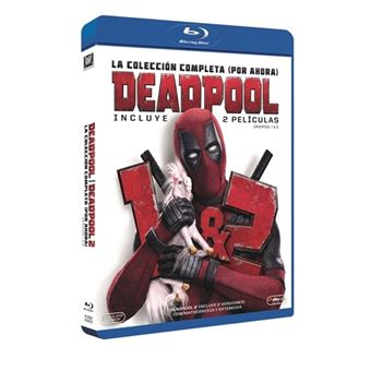 Pack Deadpool 1 y 2 - Blu-Ray