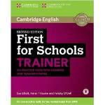 First for Schools Trainer Six Practice Tests with Answer