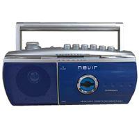 Radiocasette Nevir NVR-434 T Azul/Plata