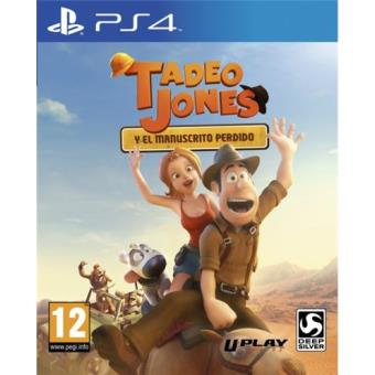 Tadeo Jones: El manuscrito perdido PS4