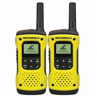 Walkie-Talkie Motorola TLKR T92 H2O Amarillo