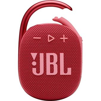 Altavoz Bluetooth JBL Clip 4 Rojo