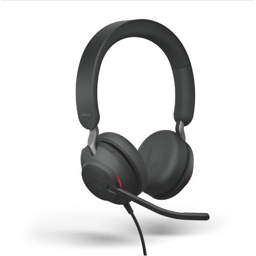 Auriculares Jabra Evolve2 40 MS Estéreo Negro