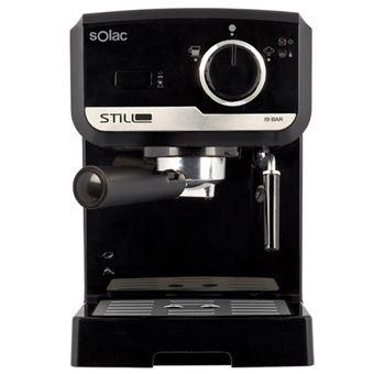 Cafetera Expresso Solac Stillo Espresso Negro