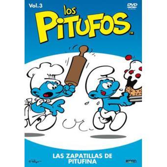 Los Pitufos: Las zapatillas de Pitufina (Volumen 3) - DVD