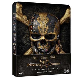 Piratas del Caribe 5: La venganza de Salazar - Steelbook Blu-Ray