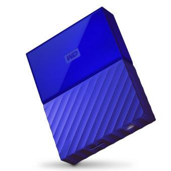 "Disco duro externo WD My Passport 4 TB 2.5"" azul"