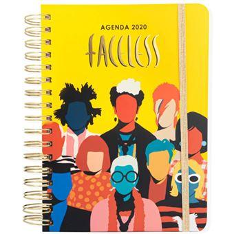 Agenda anual 2020 Semana Vista Coco Dávez