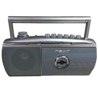 Radiocasette Nevir NVR-434 T Gris