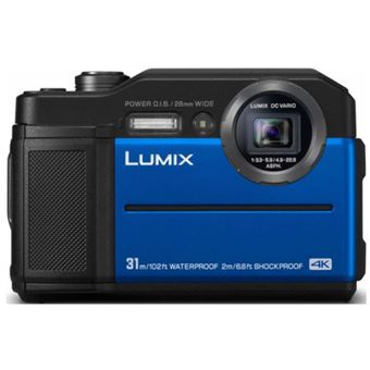 Cámara Sumergible Panasonic DC-FT7 Azul