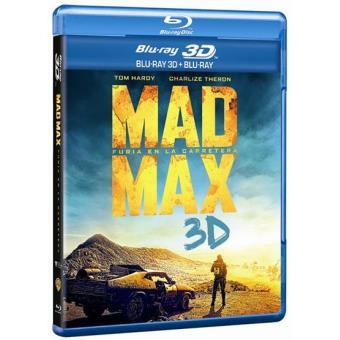 Mad Max: Furia en la carretera - Blu-Ray + 3D