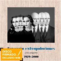 Extrapolaciones y dos preguntas - Ed Deluxe Limitada -  2 Vinilos + CD + Libro  - Disco Firmado