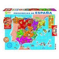 Puzzle Educa Provincias de España 150 Piezas