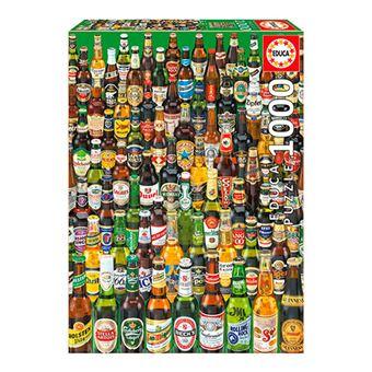 Puzzle Cervezas Educa