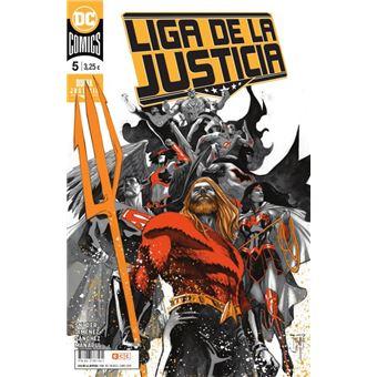 Liga de la Justicia núm. 83/ 5 grapa