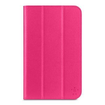 Belkin Smooth Tri-Fold Cover color rosa Funda con soporte para Samsung Galaxy Tab 3 7.0