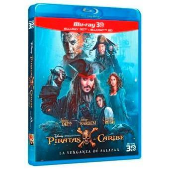 Piratas del Caribe 5. La venganza de Salazar - Blu-Ray + 3D