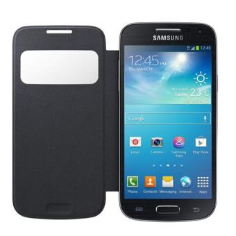 Samsung S-View funda S4 mini negro