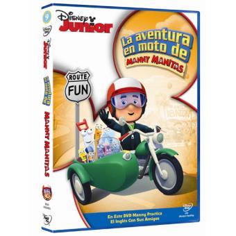Manny Manitas: La aventura en moto de Manny Manitas - DVD