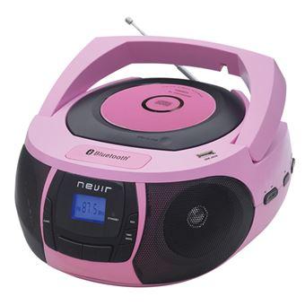Radio Bluetooth Nevir NVR-481UB Rosa