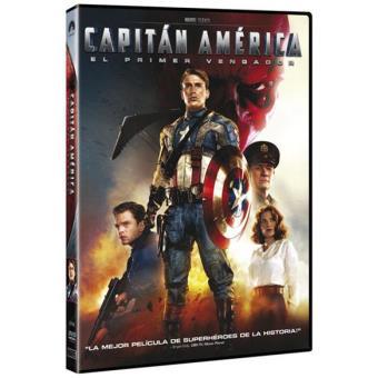 Capitán América: El primer vengador - DVD