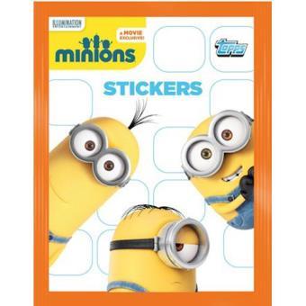 Minions sticker blisters