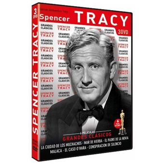 Pack Grandes Clásicos Spencer Tracy  - DVD