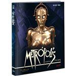 Metrópolis (1927) Ed Coleccionista Restaurada - Blu-ray + DVD + Libro